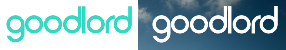 Two versions of the Goodlord logo